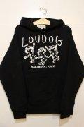 [LOU DOG] LOU DOG よさこいプルパーカ -ブラック-