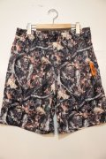 [Deviluse]Camo Hybrid Shorts-Brown-