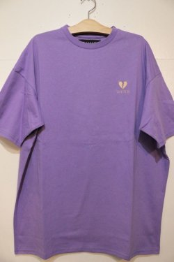 画像1: [DEVILUSE]Heartaches Big T-shirts-Lavender-