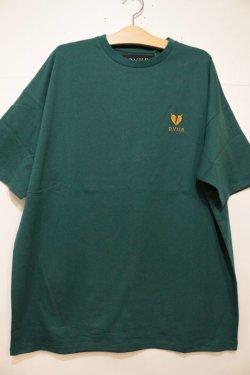 画像1: [DEVILUSE]Heartaches Big T-shirts-Green-