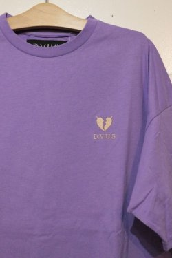 画像2: [DEVILUSE]Heartaches Big T-shirts-Lavender-