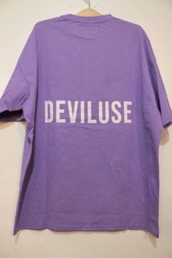 画像3: [DEVILUSE]Heartaches Big T-shirts-Lavender-