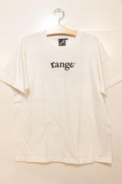 画像1: [range]range レンジs/s Tee-White-