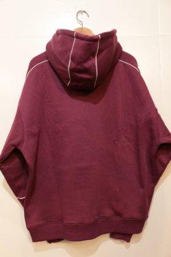 画像4: [Deviluse]Piping Pullover Hooded -Maroon-