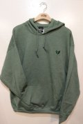 [Deviluse]Heartaches Pullover Hooded -green-