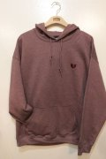 [Deviluse]Heartaches Pullover Hooded -maroon-