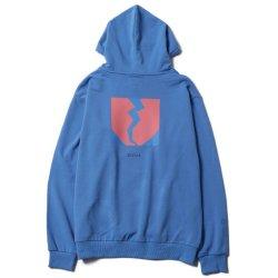 画像1: [Deviluse]Flame Heart Pullover Hooded -Brigh Blue-