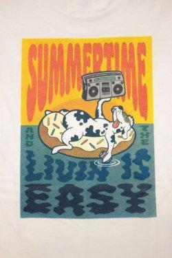 画像2: [LOU DOG] LOUDOG SUMMERTIME S/S Tee -White-
