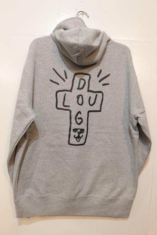 画像3: [LOU DOG] LOU DOGTOWN プルパーカ -Gray-