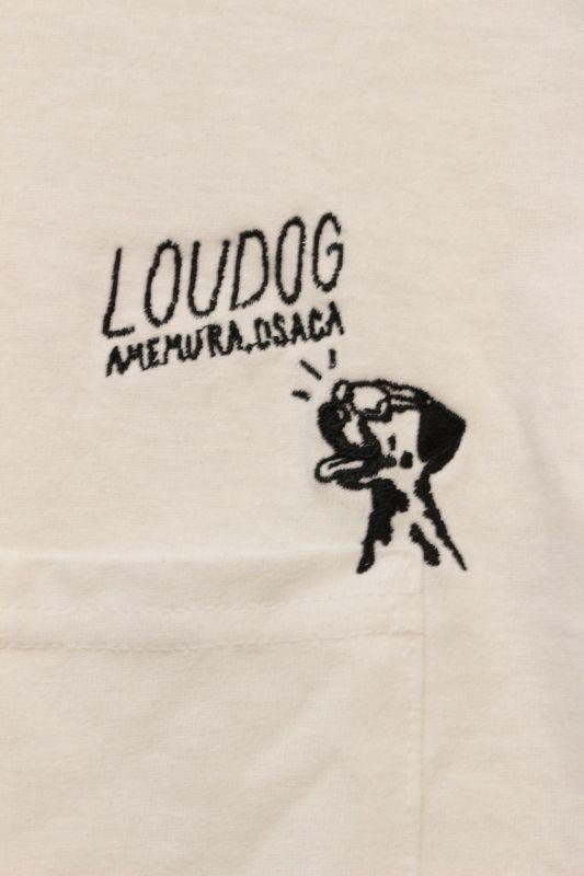 画像3: [LOU DOG] LOUDOG ポケットロングスリーブ -ホワイト-