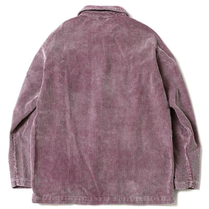画像2: [Deviluse] Corduroy Work JKT -Lilac-